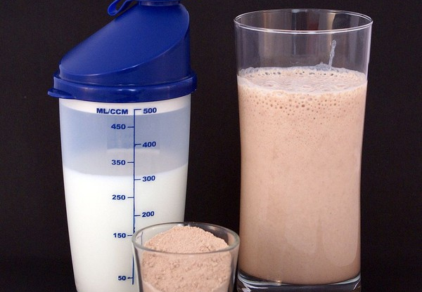 Protein Powder and Shake