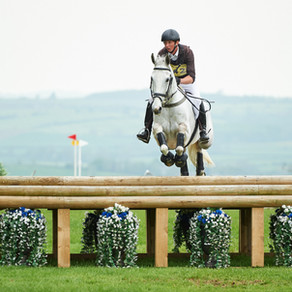 Richard bids for a top three place at Burghley International Horse Trials in September