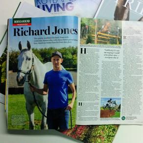 Richard Jones interviewed by Horse & Hound Magazine