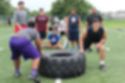 oline football camp