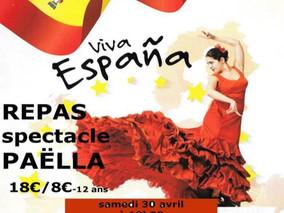 REPAS ESPAGNOL & SPECTACLE