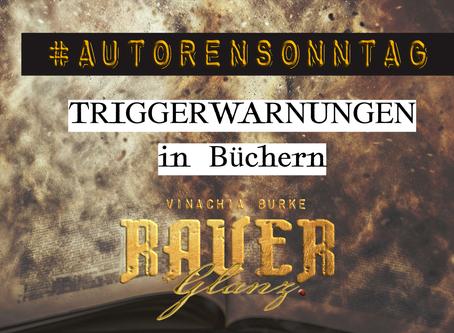 #AUTORENSONNTAG KW 36: Triggerwarnungen in Büchern
