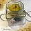 Thumbnail: Buchkerze im Glas: Rauer Glanz I
