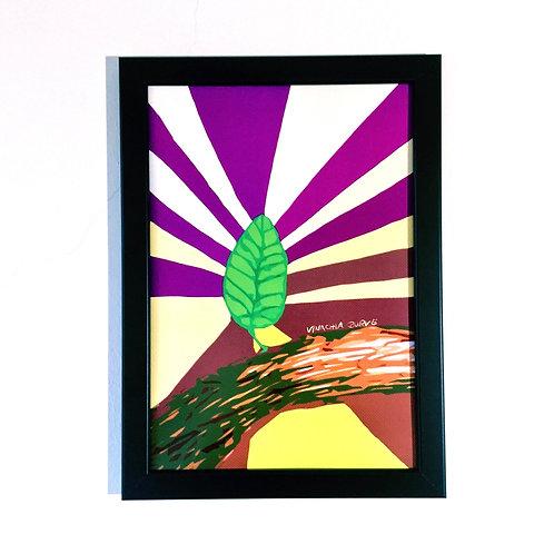 Kunstdruck (A4) - Ein neuer Morgen.