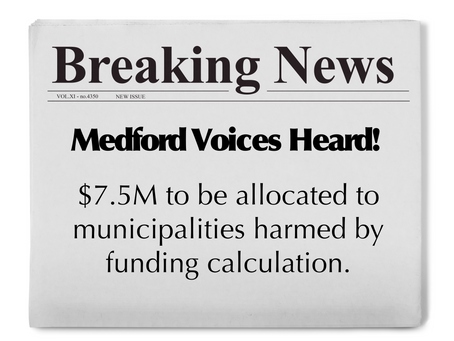 Jenny's Update on Medford Schools Funding Gap