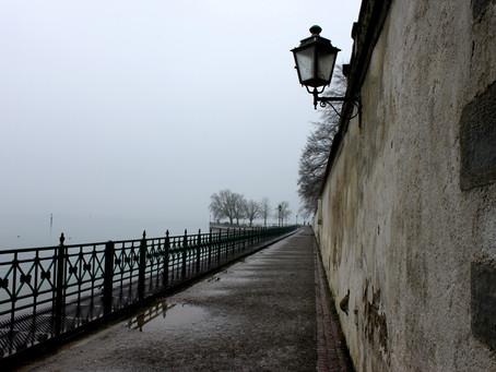 Bodensee im Wintergrau