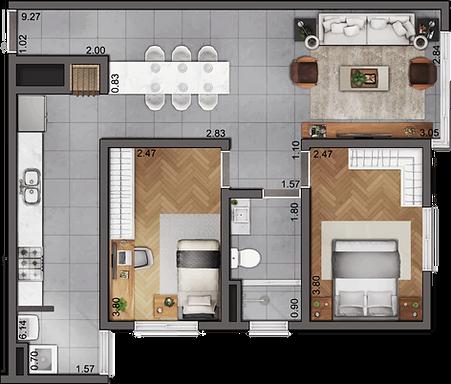 RVL - Planta Tipo 02 [cozinha maior].png