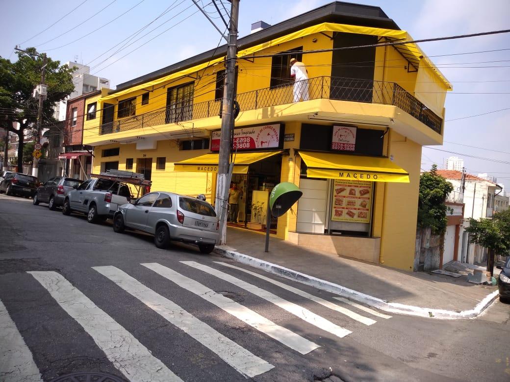 Cobertura amarela completa