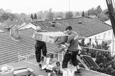 Professionelle Dachfenstermontage
