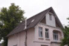 Altes Dach in Hamburg vor der Sanierung