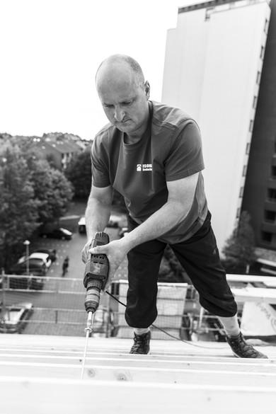 Dacharbeiten - Im Norden ganz oben