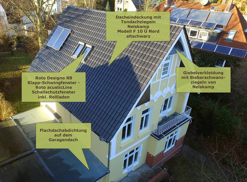 Energetische Dachsanierung in Hamburg Rahlstedt