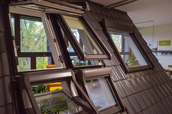Dachfenster Roto Ausstellung Hamburg