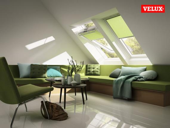 Dachfenster von VELUX für mehr Tageslich und Behaglichkeit