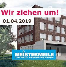 unsere neue Adresse - Meistermeile Hamburg