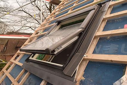 Roto Wohndachfenster Einbau