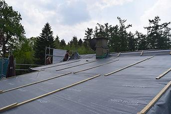 Dachsanierung - Luftdichtigkeitsschicht