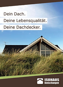 Informationsbroschüre Dachdecker Hamburg ISOHAUS