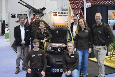 ISOHAUS Bedachungen Messe-Team