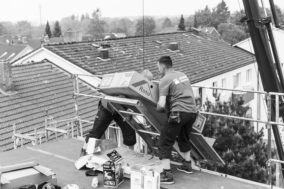 Roto Dachfenstereinbau - Dachfenstertausch