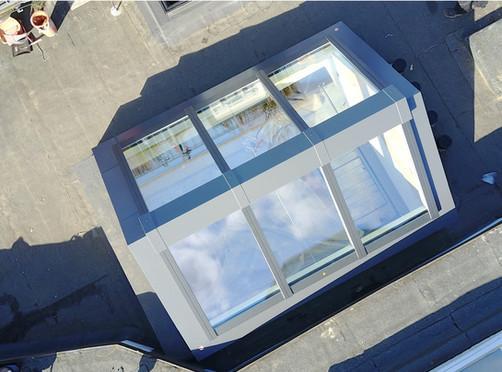 VELUX Tageslichtllösung für Flachdach