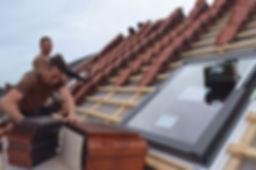 Dacheindeckung mit Tonziegeln von Nelskamp