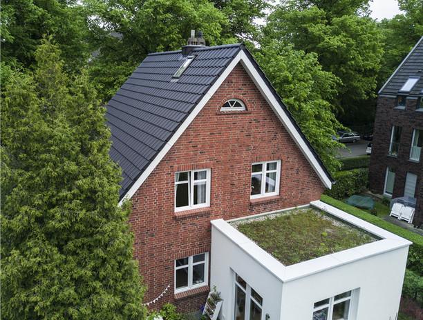 Energetische Dachsanierung in Hamburg-Finkenwerder