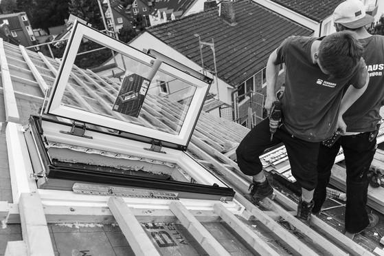 Dachfenstereinbau Dachdecker Hamburg