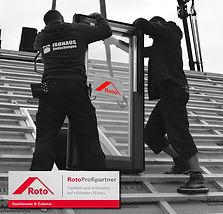 Dachfenstereinbau - Roto Profipartner Hamburg