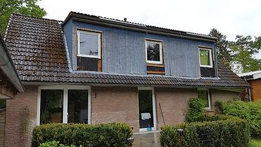 Altes Dach vor der Dachsanierung