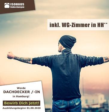 Stelle Azubi Dachdecker Hamburg ISOHAUS.