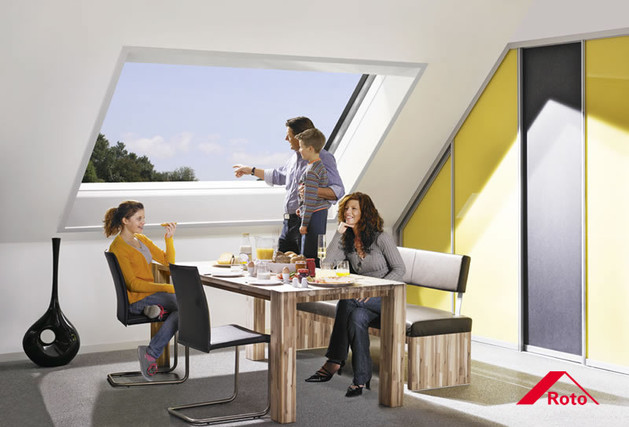 Panorama-Dachschiebefenster Roto Azzuro