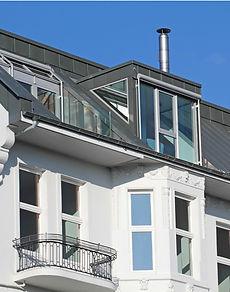 Dach mit Metalleindeckung