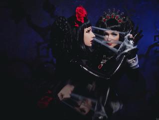 Gothic twins photoset