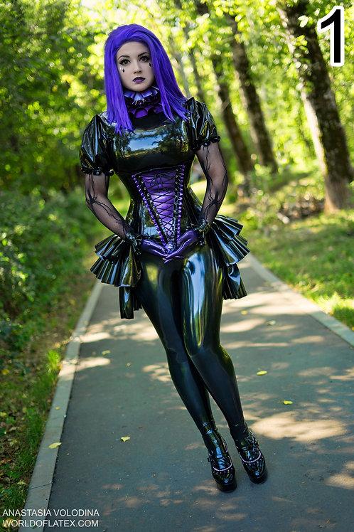 Anastasia Volodina Purple Beauty / High quality glossy photo poster.