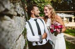 Brautpaar in Jühnde