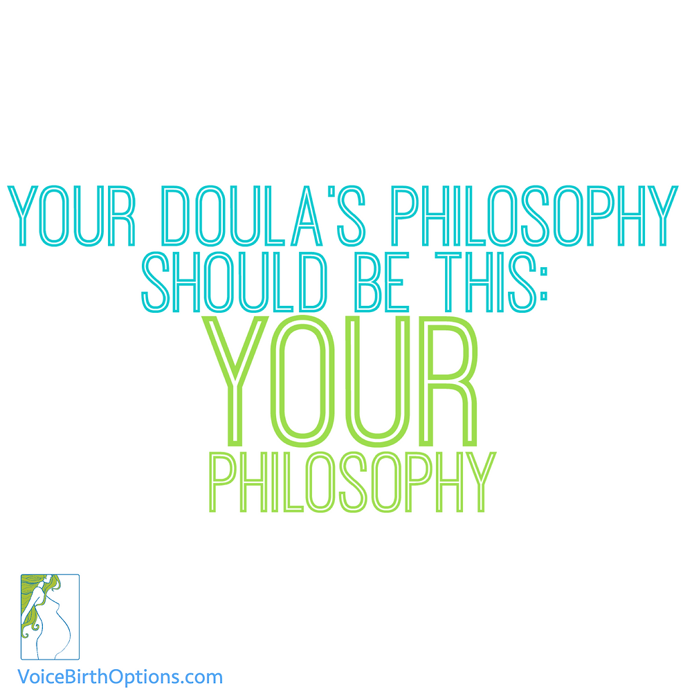 A Doula's Birth Philosophy
