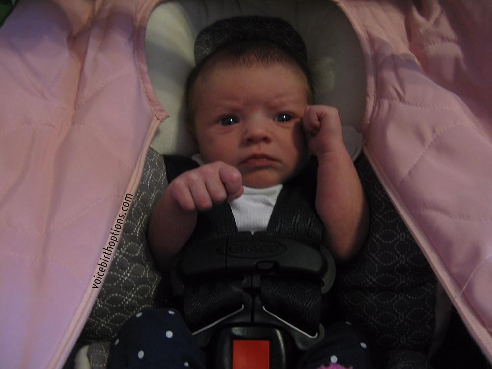 Improper Infant Car Seat Use   VOICE Birth Options