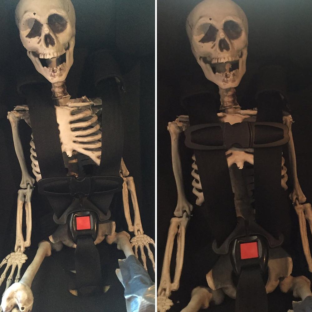 """""""Mr. Bones Safety"""" Photo Credit to Ashley Klum, Nebraska"""