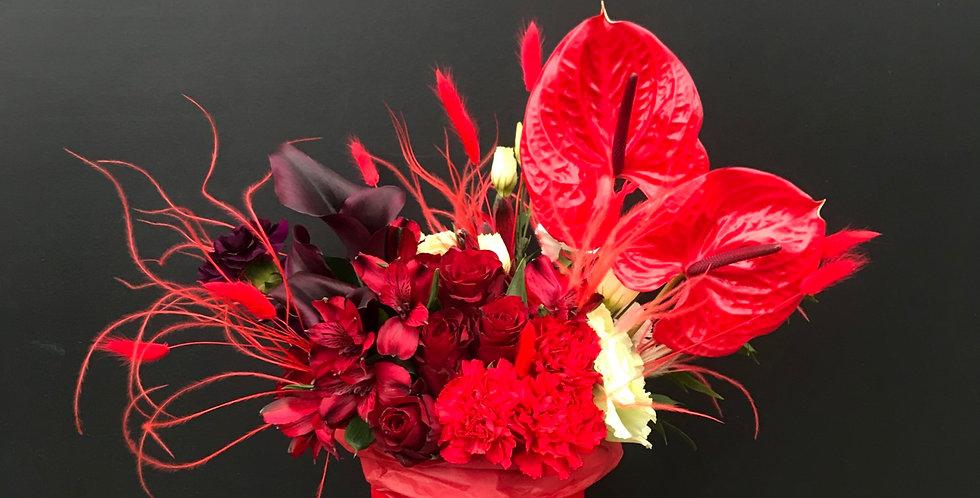 Mini Art box- Red Valentine.