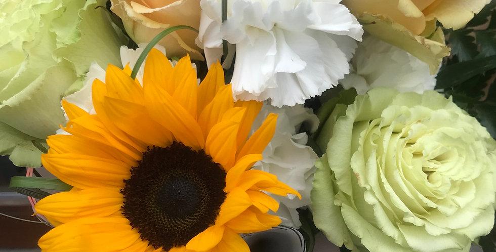 Sunflower art bouquet