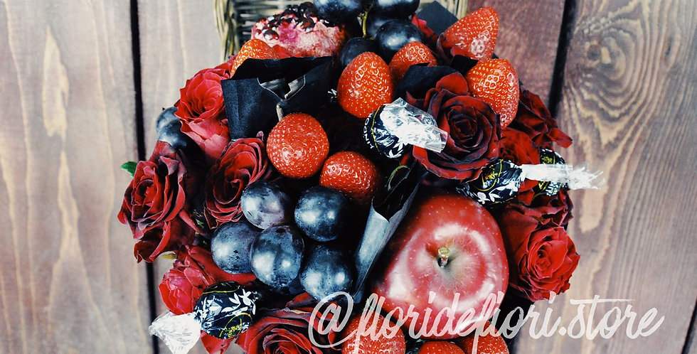 red and black roses fruquet