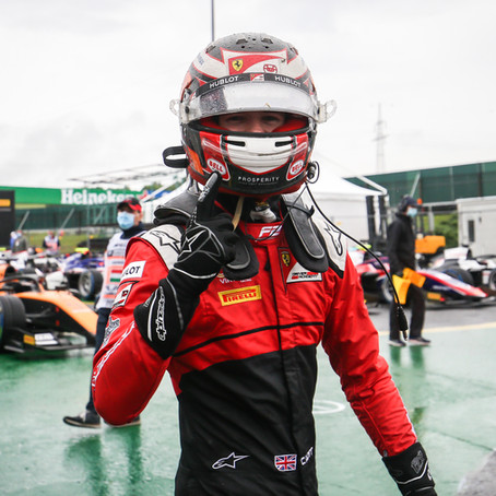 UNI-Virtuosi on pole with epic Ilott in Hungary, Zhou third in the wet