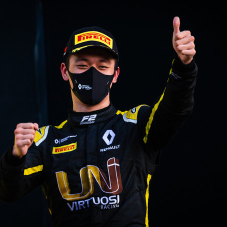 Race-winner Guanyu Zhou re-joins UNI-Virtuosi Racing for the 2021 FIA Formula 2 season