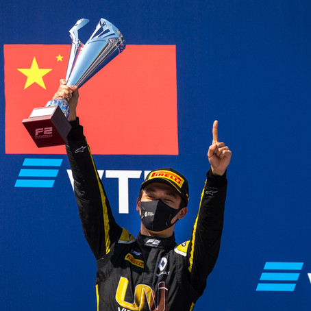 Zhou takes first FIA F2 win for UNI-Virtuosi Racing at Sochi