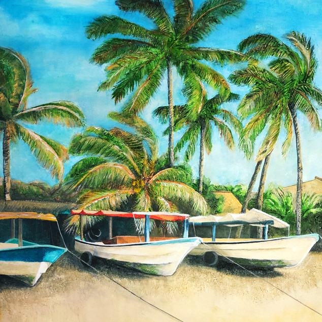 Fishing Boats of La Manzanilla 1