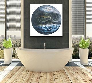 Raw Earth, bathroom