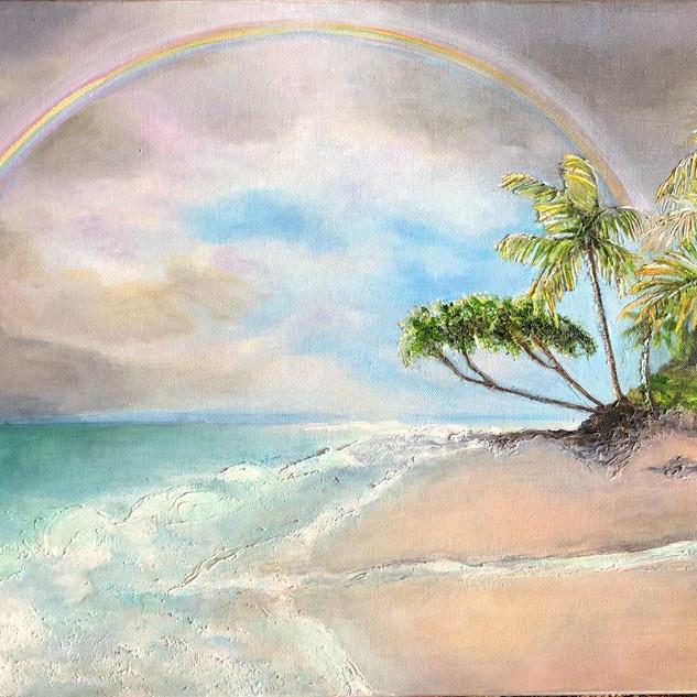 Rainbow over Rincon