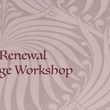 Vision Renewal Collage Workshop