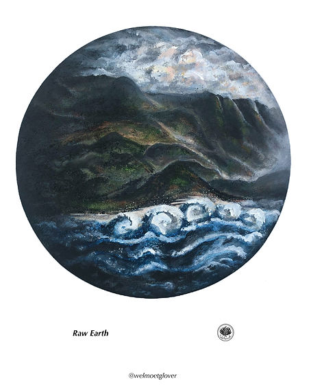 Raw Earth, giclee